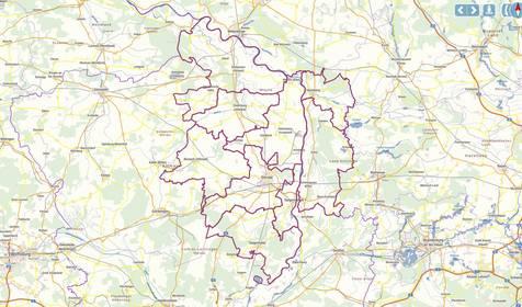 Geodaten des Landkreises Stendal